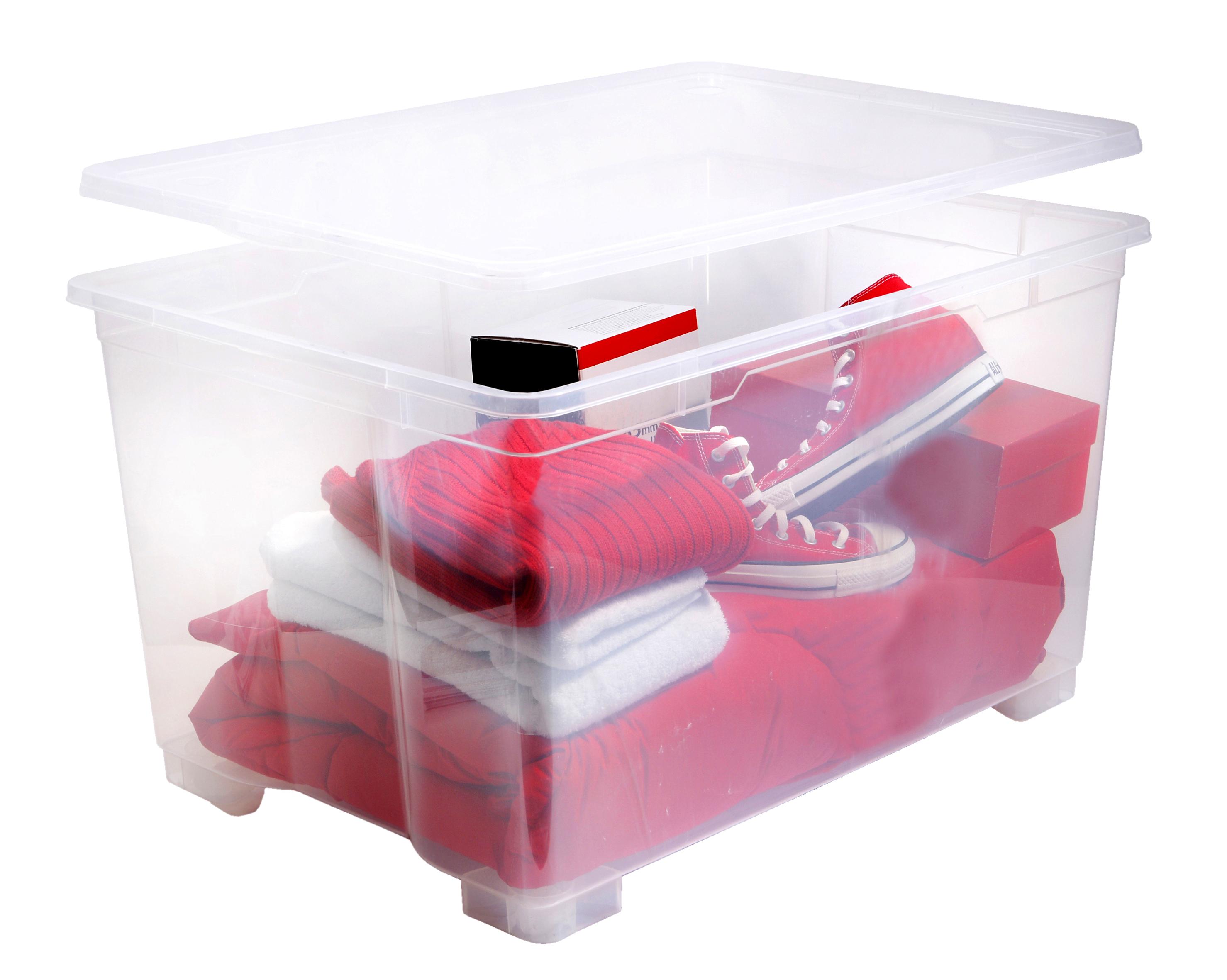 Carrefour Boite De Rangement Basic Box 140l 4299013