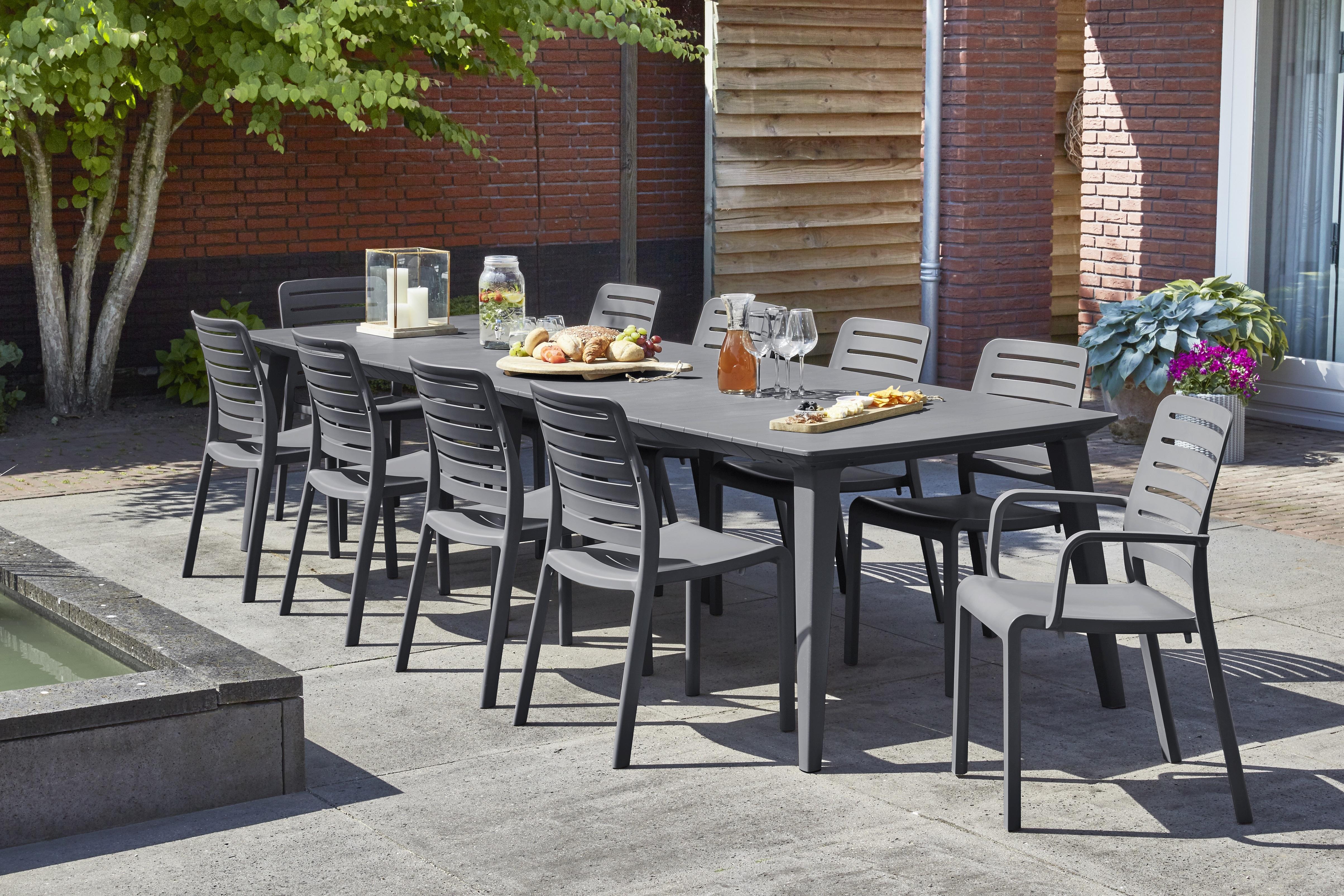 ALLIBERT-JARDIN - LIMA - Table de jardin rectangulaire ...