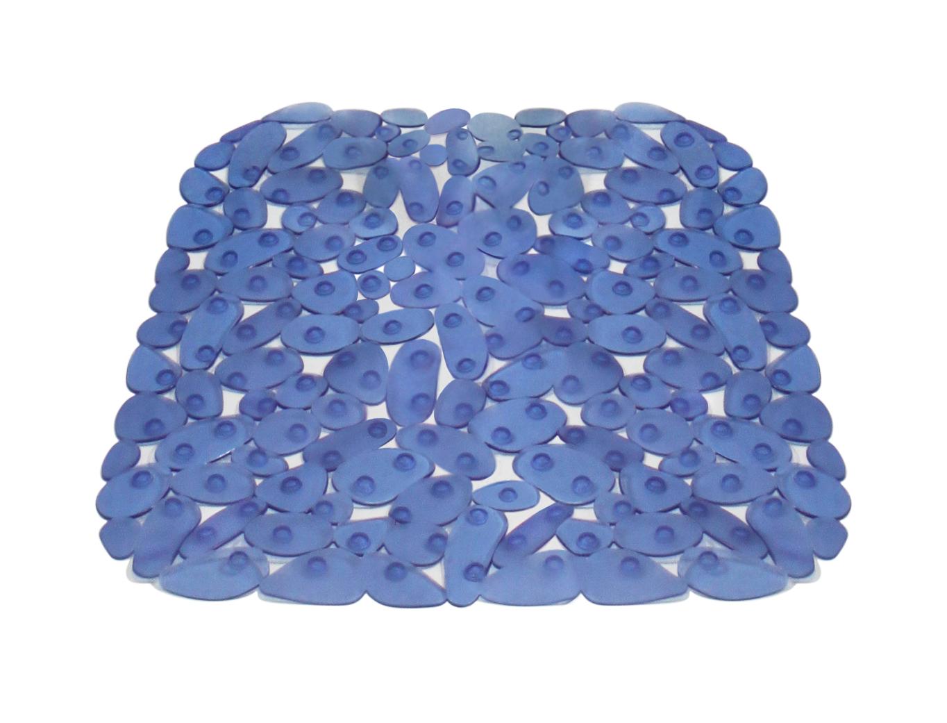 carrefour - tapis de douche antidérapant galets plastique - 53 x ... - Antiderapant Salle De Bain