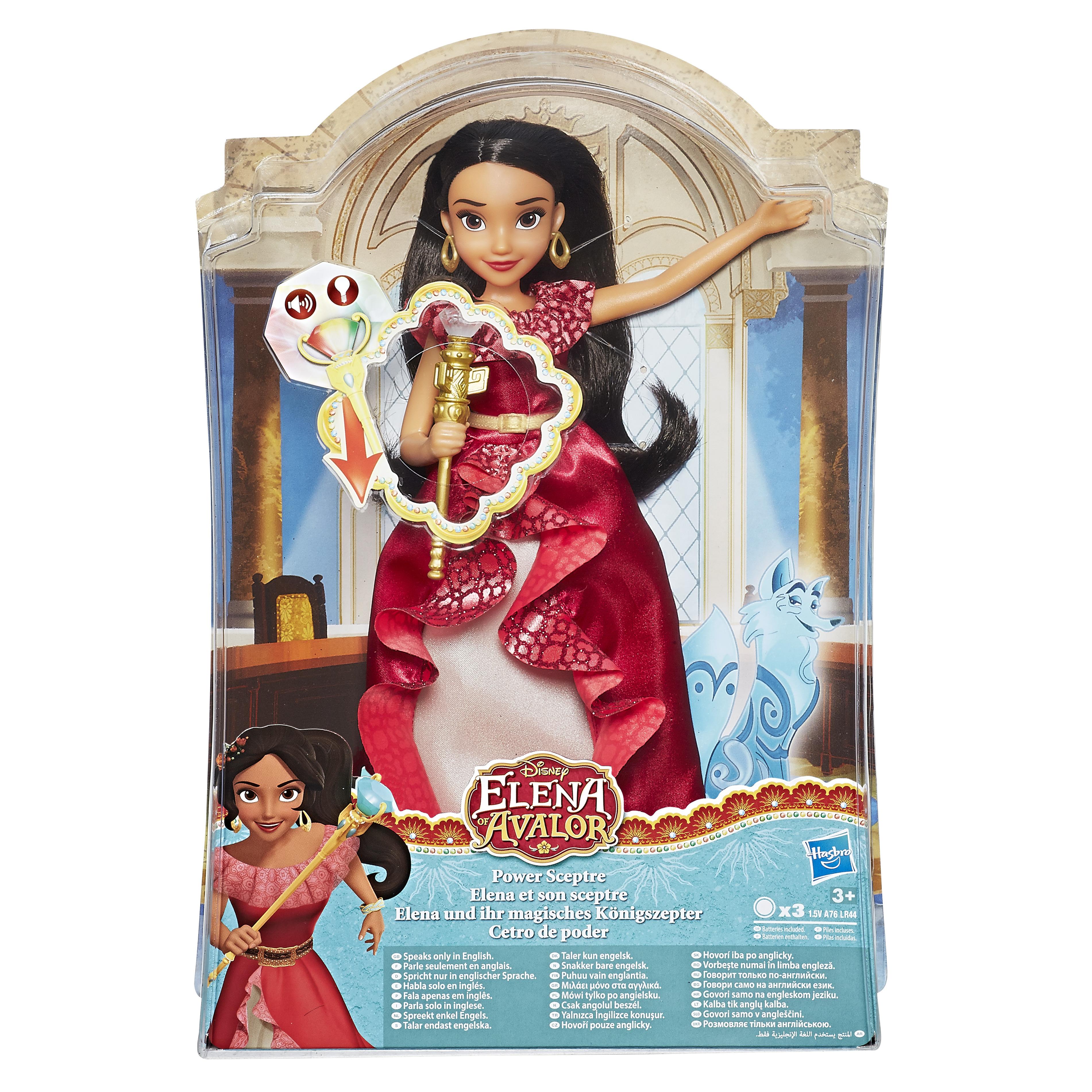 Vivez des aventures palpitantes avec la poupée Elena muni de son sceptre et  aidez la à découvrir ses pouvoirs ! a753954515c