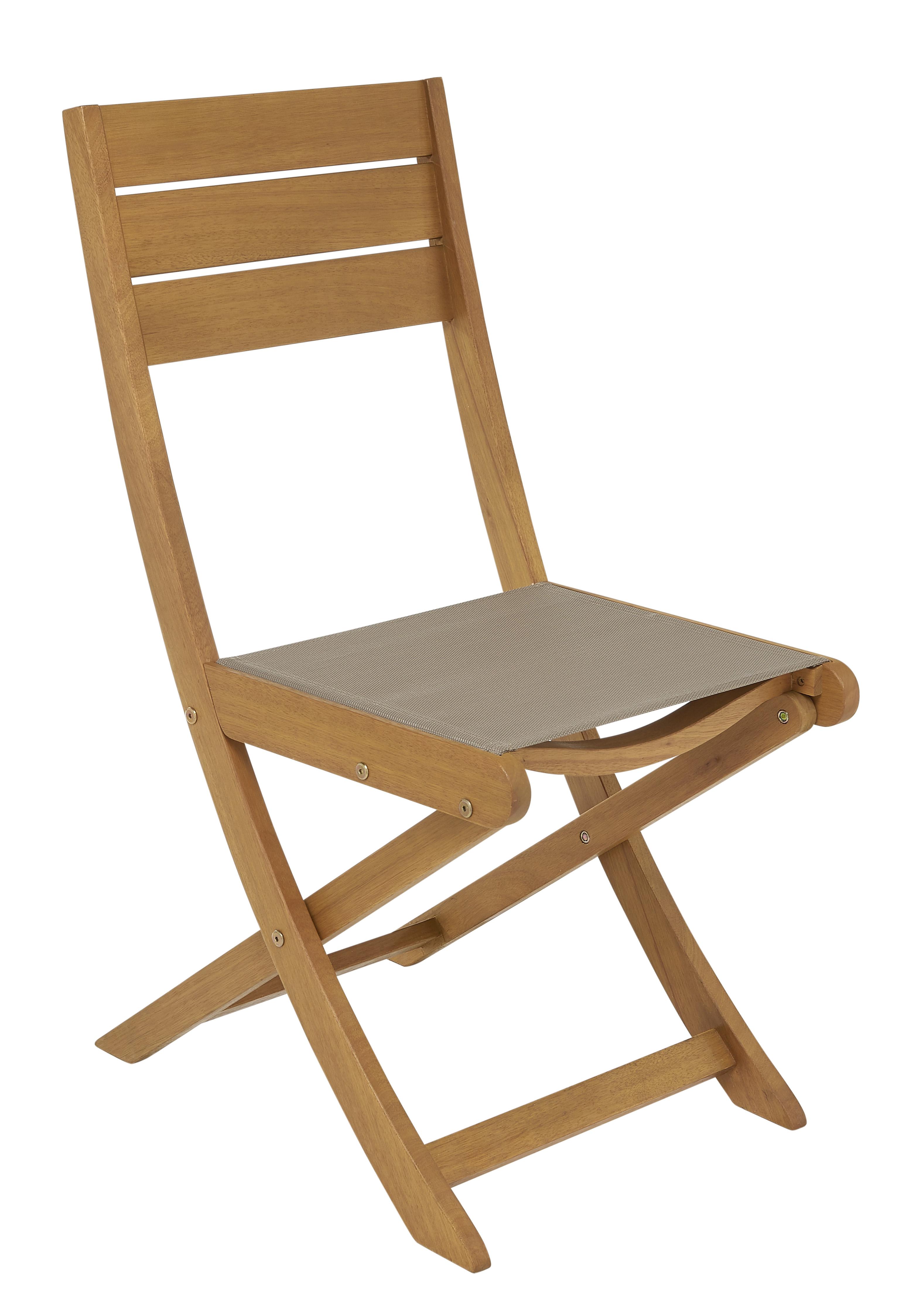 chaise pliante jardin