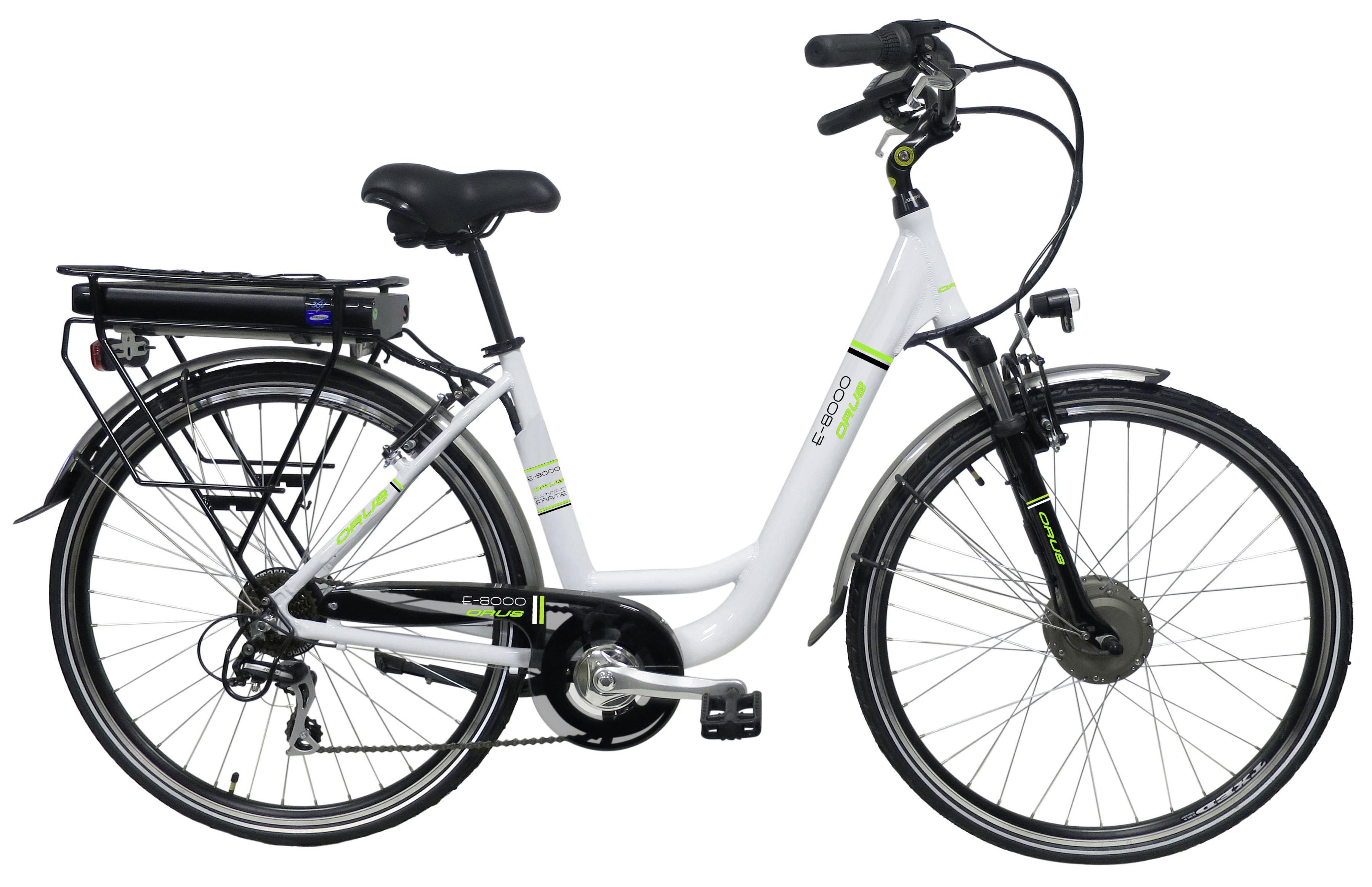 CARREFOUR Vélo  assistance électrique 28 CITY 300 LADY Blanc