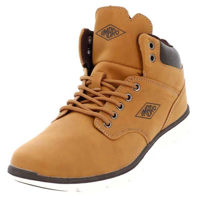 Umbro Chaussures mode ville Hordock mid camel Marron 49495