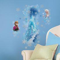 roommates stickers scintillants le palais de glace la reine des neiges disney