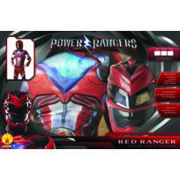 POWER RANGERS - Panoplie Luxe - Rouge - Taille S - 155047S