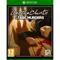 Just For Games - Agatha Christie The Abc Murders Jeu Xbox One