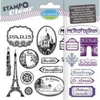 Aladine - 04196 - Tampons À Imprimer - Stampo Clear - Paris