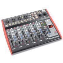 POWER DYNAMICS - PDM-L605 Mixer 6 canaux USB AUX MIC +48V