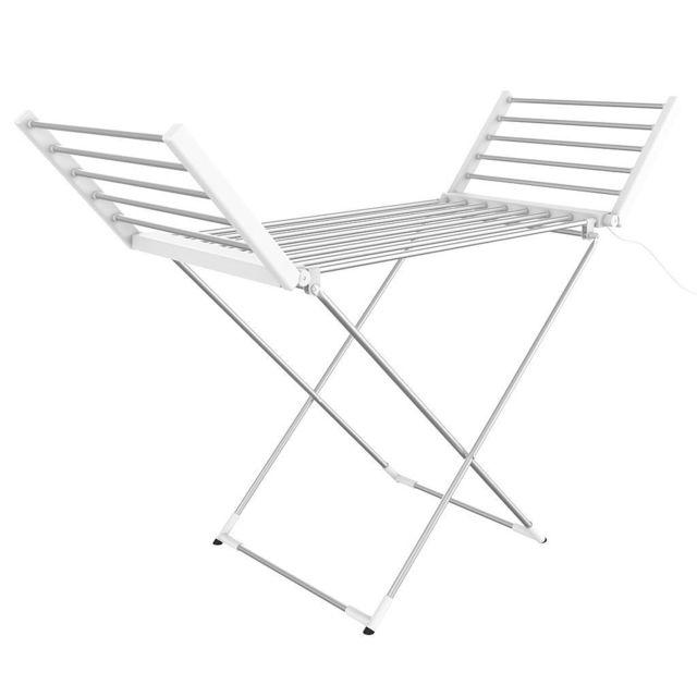 Sotech Etendoir Pliant d'Intérieur à Etages, Classique, Blanc