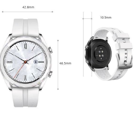 Montre connectée Watch GT Elegant Huawei noir