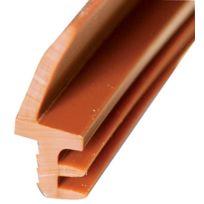Kiso - Joint D'ISOLATION Pose Sur Dormant - L411 Ou M5406 F - Finition:Noir - Long. m:250 - Haut. levée mm:12 - Larg. levée mm:4