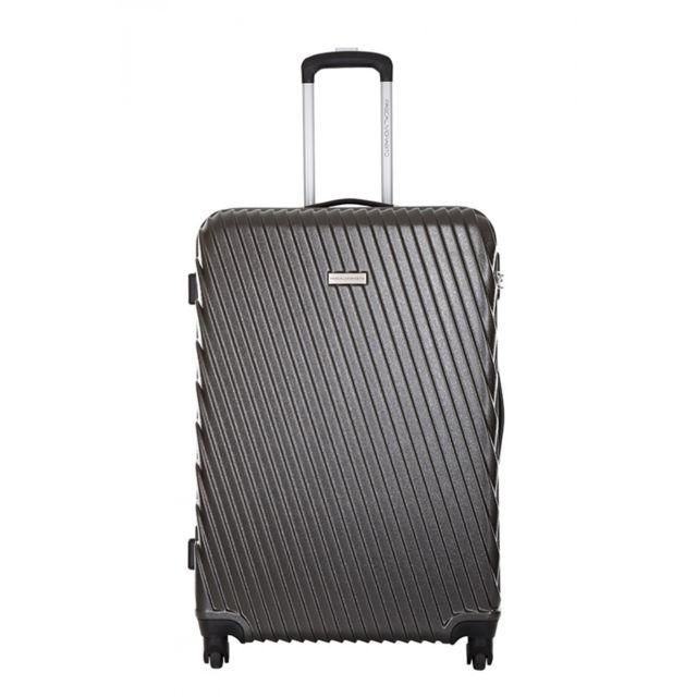 pascal morabito valise arise gris taille l 29cm 100 l 6 249832 valises cabine. Black Bedroom Furniture Sets. Home Design Ideas