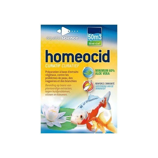 Aquatic Science Homeocid 50000 pour 50m3