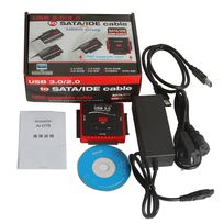 Cabling - Usb 3.0 vers Ide Sata 2.5 3.5 Disque Dur Hd Hdd Adaptateur Cable