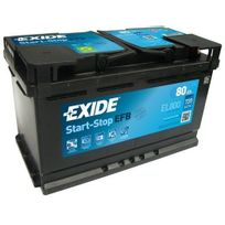 Exide - Batterie auto 12V 720A 80Ah Micro-Hybride El800