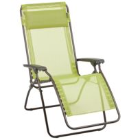 Lafuma Mobilier - R Clip - Siège camping - Trendy Batyline vert/marron