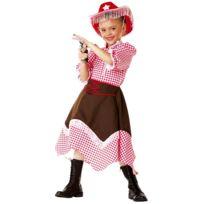 César - Costume Cowgirl - Fille