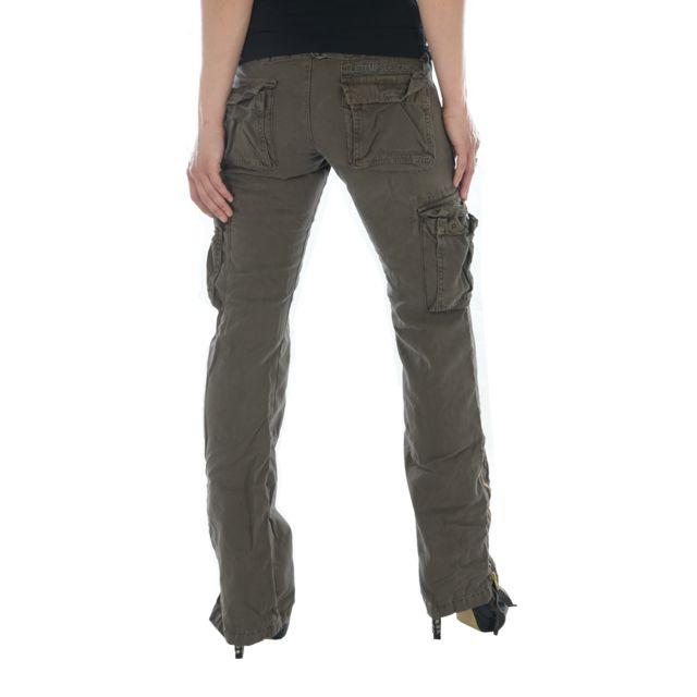 Des Temps Treillis Le Cerises B52 Couleur Pantalon Femme Marron Z7wfq