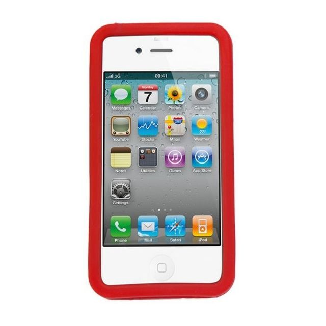 coque de protection compatible telephone portable iphone 44s55sse en silicone