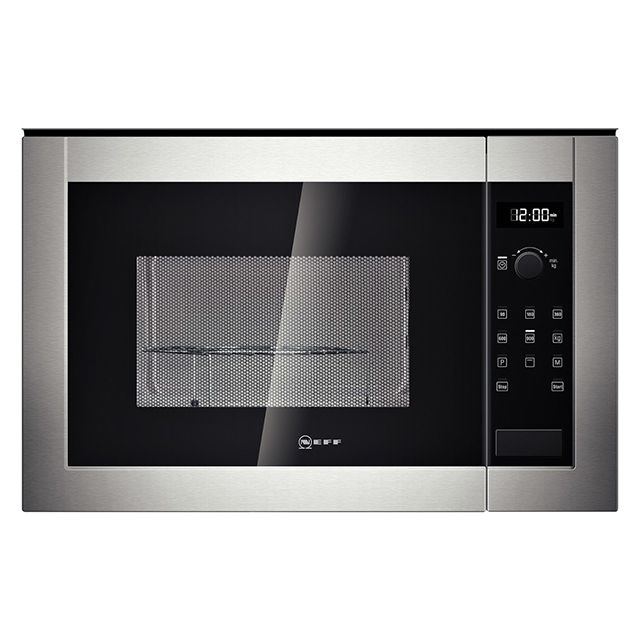 Neff micro ondes gril encastrable 25l 900w inox - Micro onde grill encastrable ...