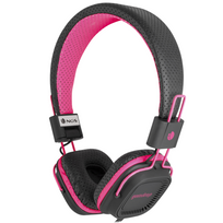 Ngs Technology - Casque stereo fluo pink gumdrop