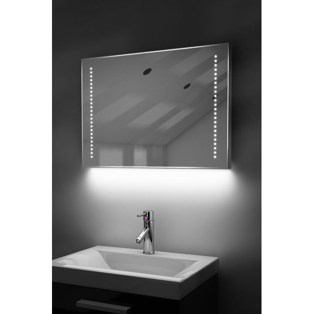 Diamond X Collection Miroir Toilette Rasage Bluetooth Anti