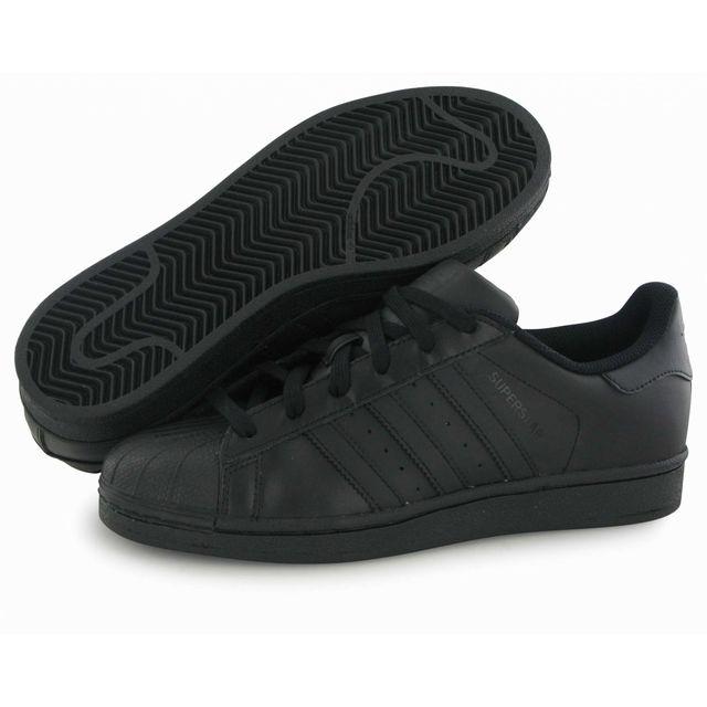 Adidas originals - Superstar Foundation noir, baskets mode homme