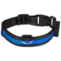 Eyenimal - Collier lumineux Light Collar Usb rechargeable S - Bleu - Pour chien