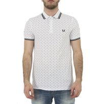 Fred Perry - Polos m1570 blanc