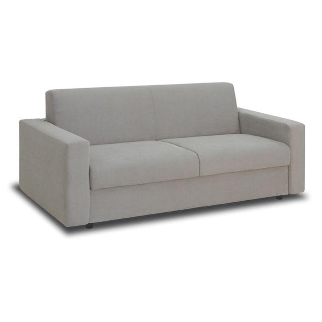 sofa story canap convertible manitoba 3 places gris - Convertible Canape