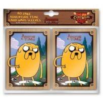 Cryptozoic Entertainment - 330363 - Jeu De Cartes - Adventure Time Card Wars - Housse - Jake - C50 - 80 Pièces