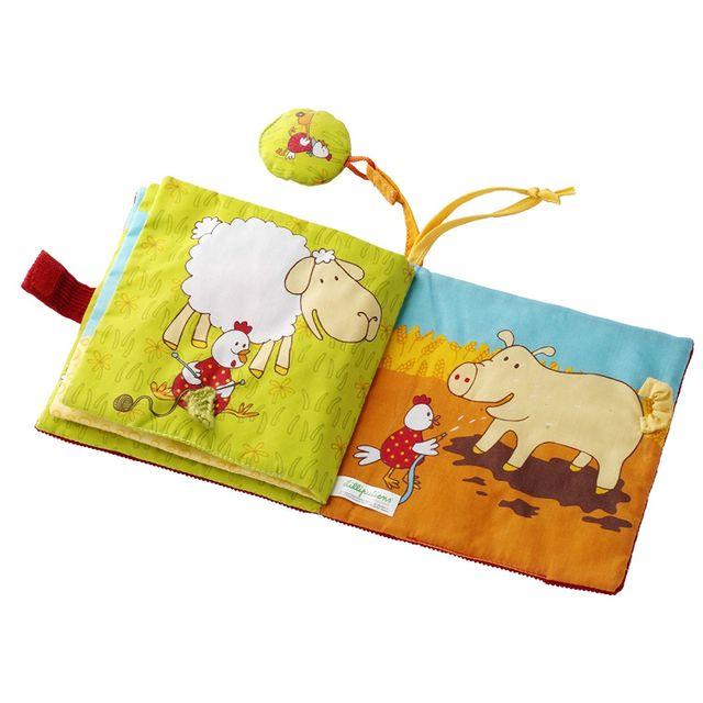 Lilliputiens - Livre imagier bébé Ophélie & Co