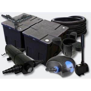 Aqua occaz kit filtration complet 18w cumeur et for Kit de filtration pour bassin pas cher