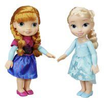 LA REINE DES NEIGES - Pack de 2 poupées Elsa et Anna - 64915