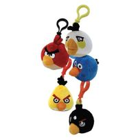 Angry Birds - Peluches Clip Assortiment X 16 2261