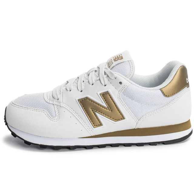 basket new balance blanche et or