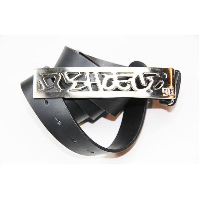 0fe2b2825111 Dc - Ceinture Shoes Leather Waxtag Black Cuir - pas cher Achat ...