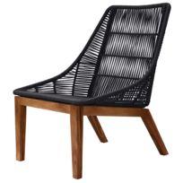 fauteuil corde plastique achat fauteuil corde plastique pas cher rue du commerce. Black Bedroom Furniture Sets. Home Design Ideas