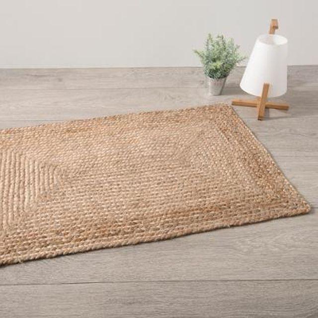 paris prix tapis en jute histoire 60x90cm naturel beige - Tapis En Jute