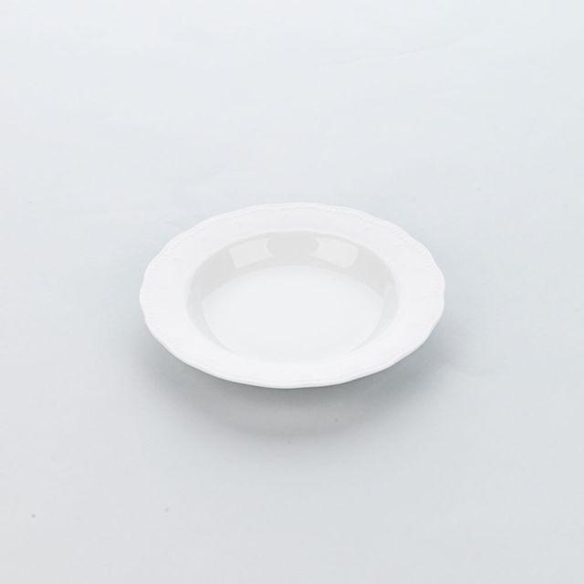Materiel Chr Pro Assiette Creuse Porcelaine Décorée Prato Ø 225 mm - Lot de 6 - Stalgast - 22,5 cm Porcelaine