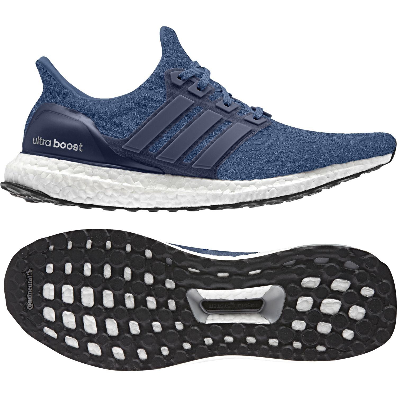 Adidas - Chaussures Ultra Boost bleu roi/bleu nuit/noir - pas cher Achat / Vente Chaussures running