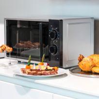 - Micro-ondes à grill avec 4 niveaux de puissance - 3 modes combinés : gril, micro-ondes, micro-ondes + gril