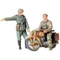 Tamiya - Maquette - Ordonnances allemandes et moto