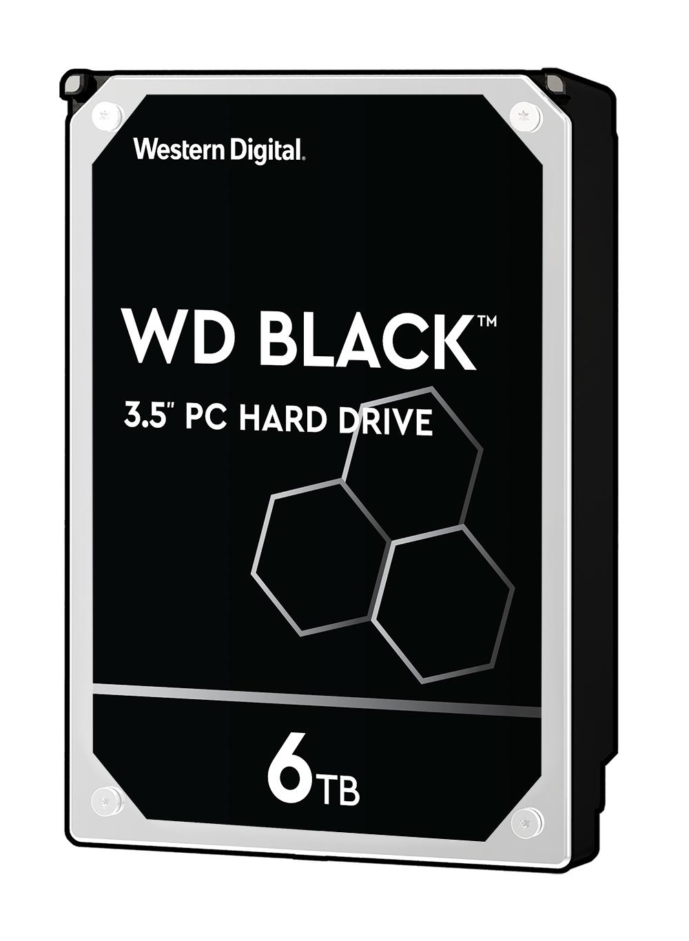WD BLACK 6 To 3.5 SATA III (6Gb/s) Cache 256 Mo