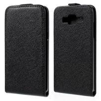 Kabiloo - Etui Slim noir à rabat vertical pour Samsung Galaxy J5 Sm-j500F