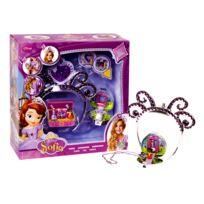 Princesse Sofia - Bijoux : Couronne et collier avec mini figurines