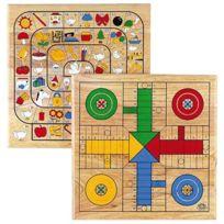 Cayro - jeu de dada et jeu de l'oie réversible