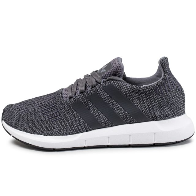 sports shoes c9bf4 3ae75 Adidas originals Swift Run Grise Grise Grise pas cher Achat Vente Baskets    Attrayant Et Durable