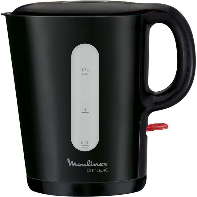 Moulinex bouilloire électrique de 1,7L sans fil 2400W noir