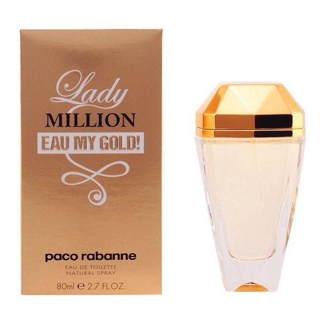Vaporisation Paco Edt 80 Pour Capacité Rabanne Toilette Lady Gold Eau My De Femme Ml Million 4L5AcR3jq